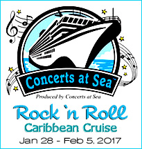Rock and Roll Nostalgia Caribbean Cruises